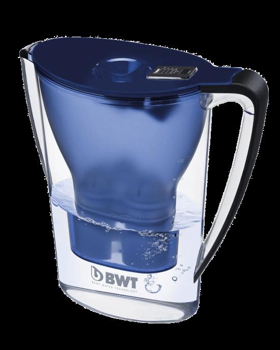 Cana filtranta Penguin 2,7 l albastră, cu indicator electronic + Cartus filtrant Magneziu